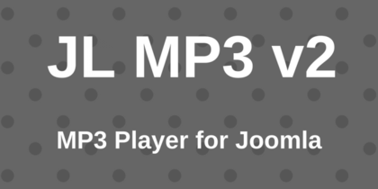 Модуль JoomLine mp3 player