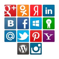 Социальные сети поддерживаемые Slogin