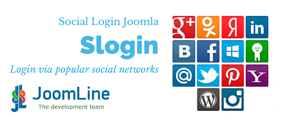 Slogin authentication for Joomla